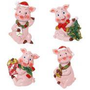 """Магнит """"Свинка"""", 6,5х2х5см, 4 вида (арт. 722470)"""