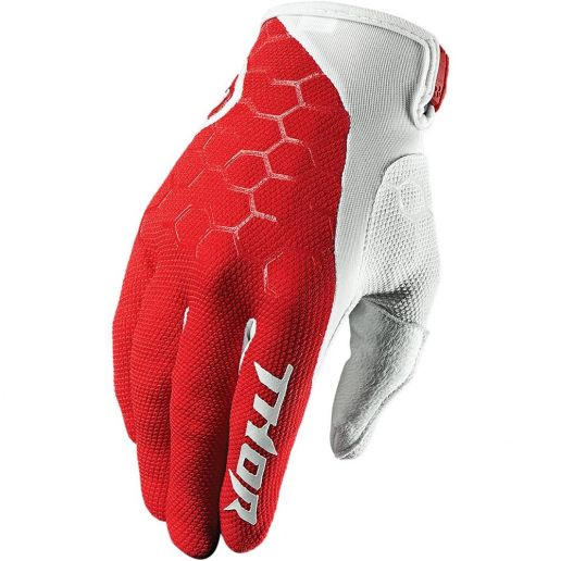 Thor - Draft Red/White перчатки, красно-белые
