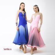 Голубое платье для стандарта
