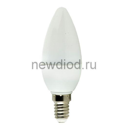 Лампа светодиодная LED-СВЕЧА-VC 6Вт 230В Е14 4000К 480Лм IN HOME