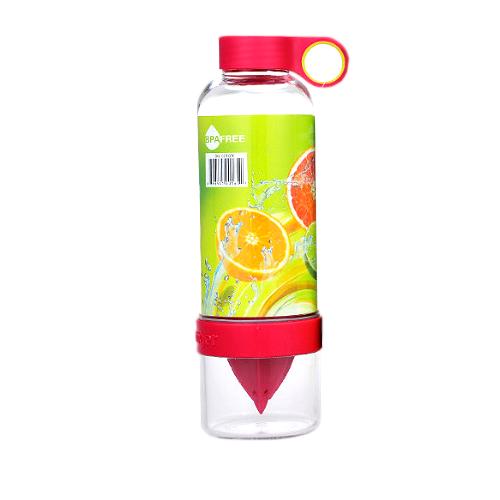 Бутылка-Соковыжималка Citrus Zinger, Цвет Красный