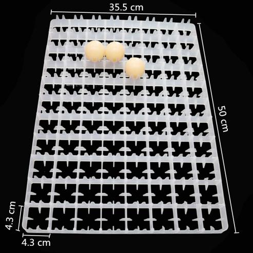 Лоток пластиковый на 88 куриных яиц.