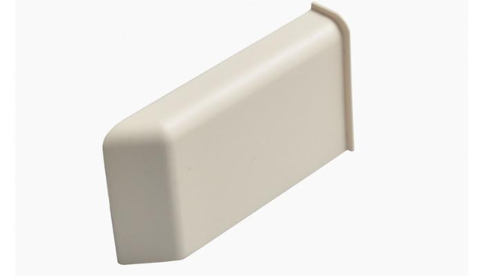 Декоративная крышка Scarpi-4 Белая, Правая