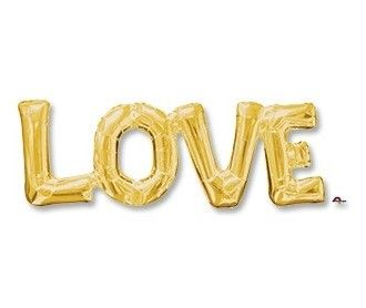 Надпись LOVE (64х23см)