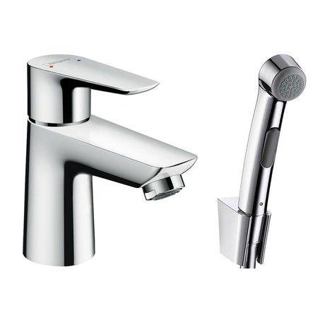 Смеситель с гигиеническим душем Hansgrohe Talis E для раковины 71729000 ФОТО
