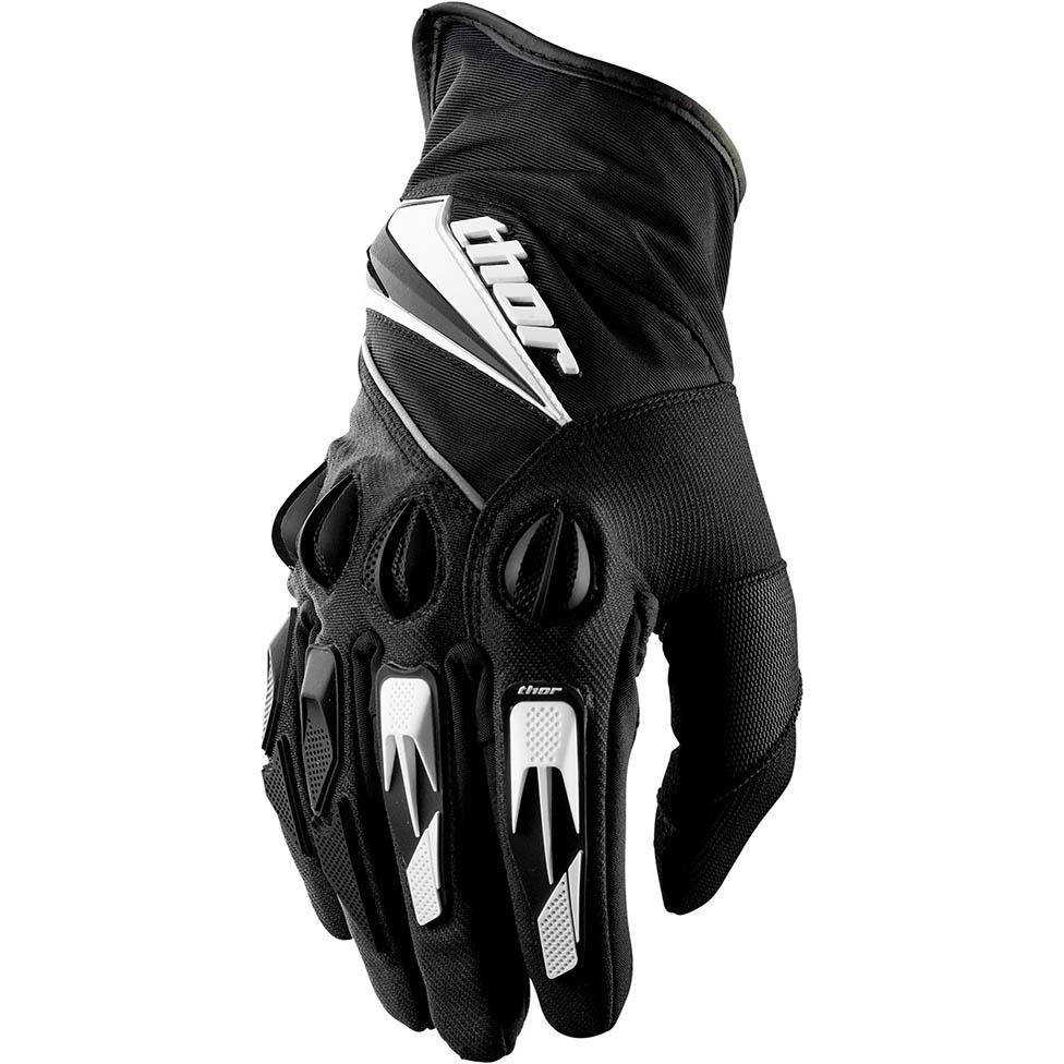 Thor - Insulator Black перчатки, черные