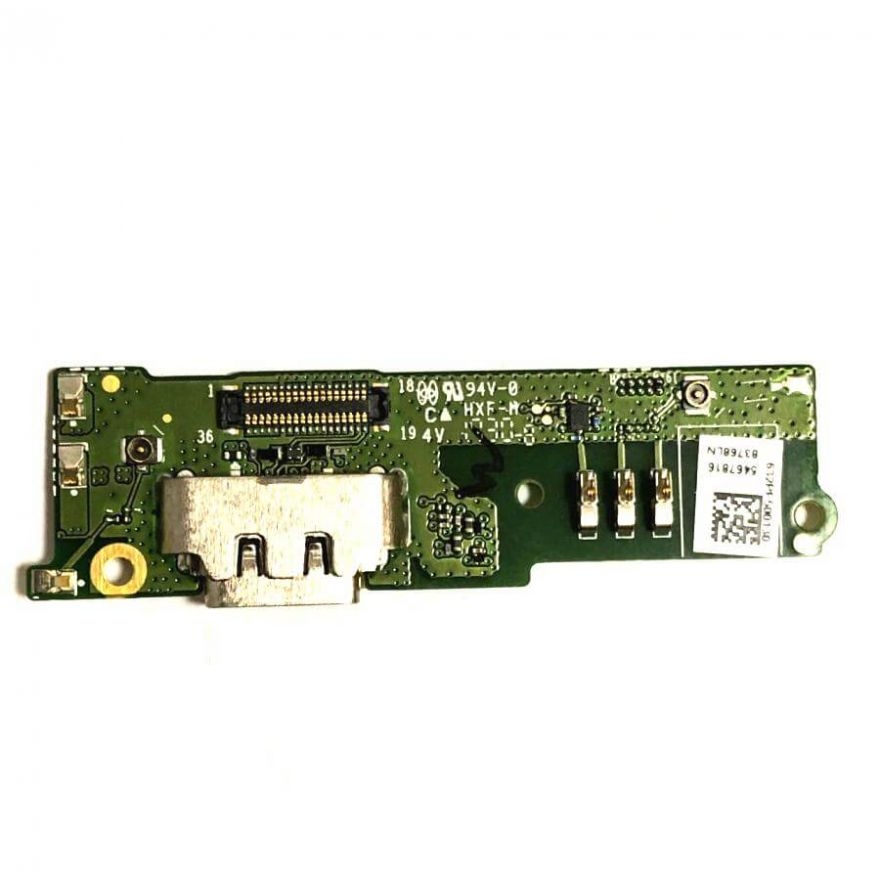 Нижняя плата с разъемом зарядки и микрофоном для Sony Xperia XA1 Plus (G3421) (Original)