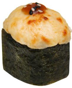 Запечённые суши Лосось 40г