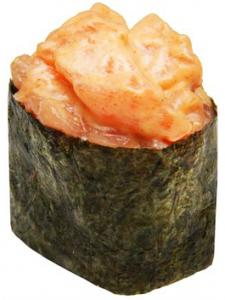 Острые суши угорь 40г
