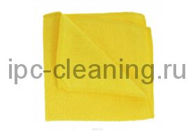 Микрофибра махра 220г/м2 желтый салфетка 30х30см