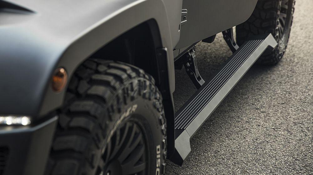 Выдвигающиеся пороги (Jeep Wrangler)