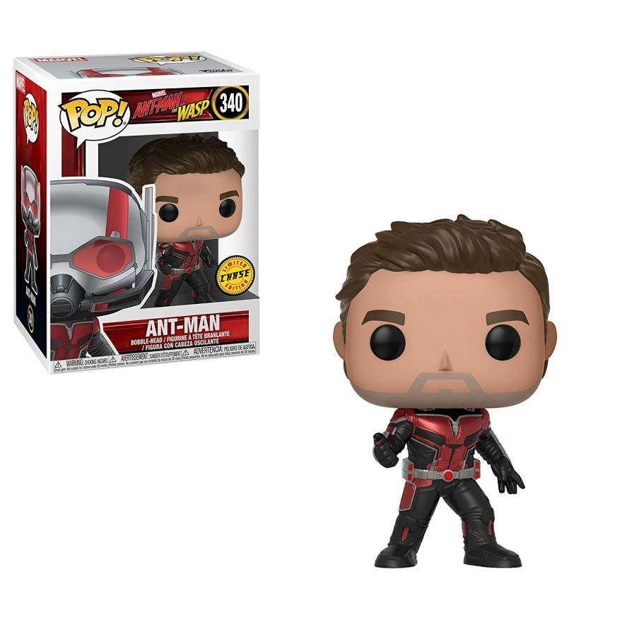 Фигурка Funko POP! Bobble: Marvel: Ant-Man & The Wasp: POP 1 w/Chase 30724