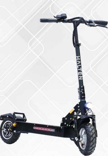 Электросамокат Halten RS-02 Черный 24Ah