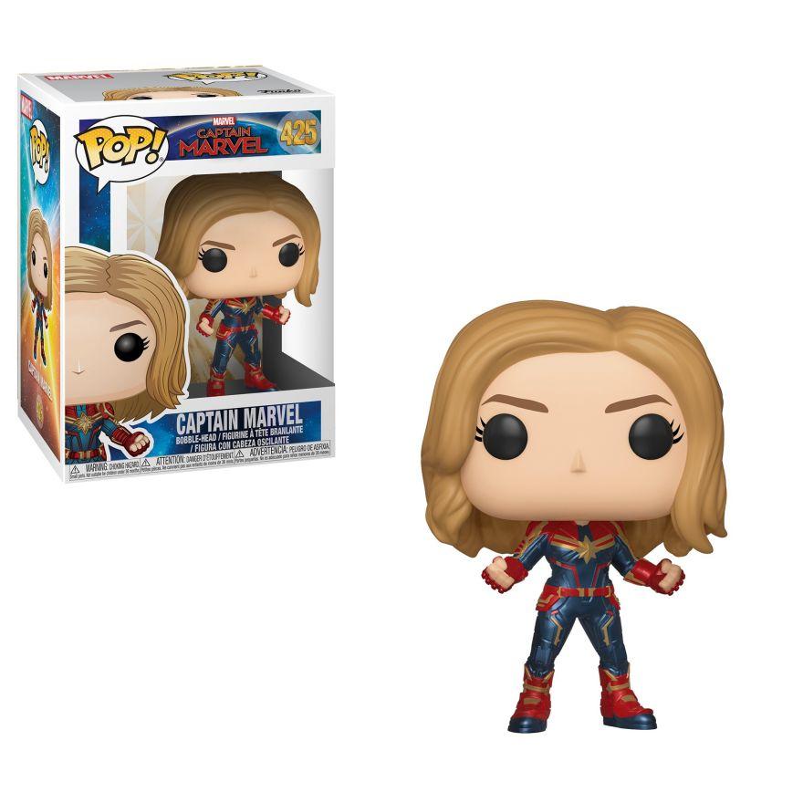 Фигурка Funko POP! Bobble: Marvel: Captain Marvel: Captain Marvel w/Chase 36341