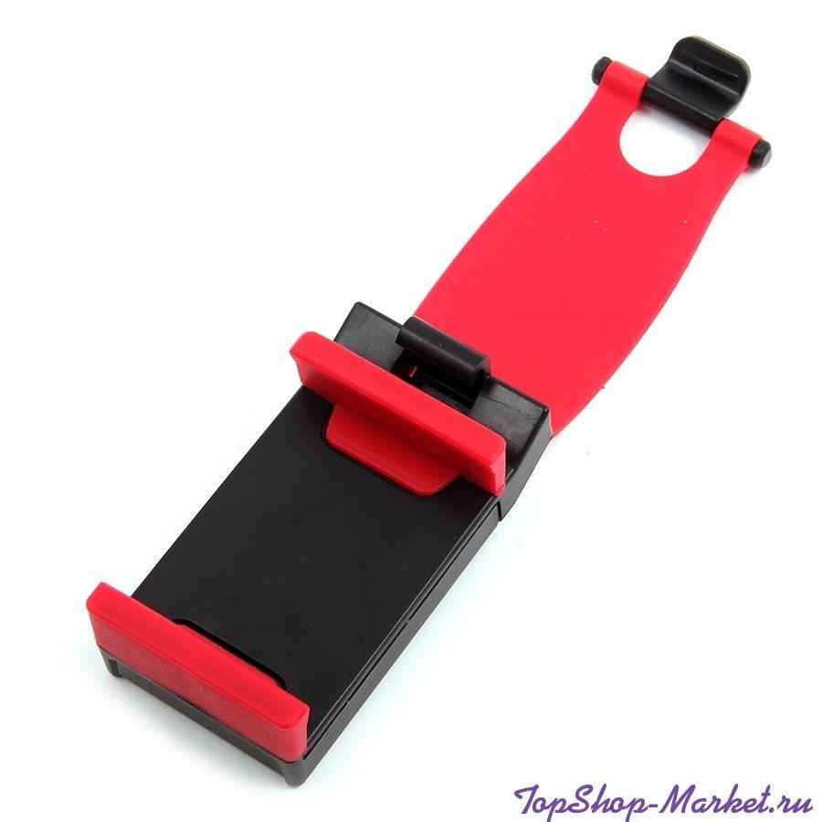 Держатель для телефона на руль, Цвет: Красный
