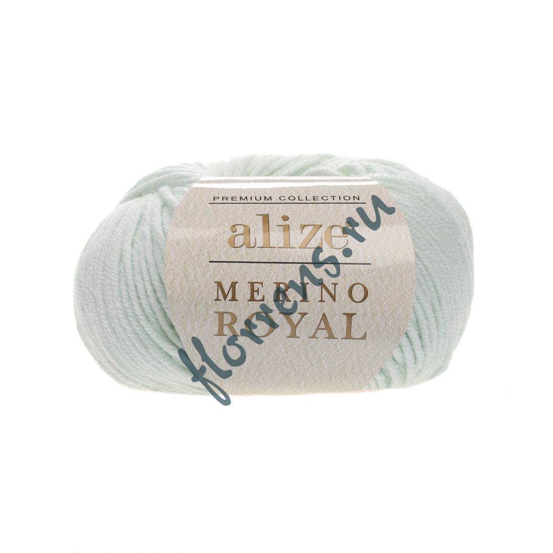 "Пряжа ""Alize"" Merino Royal / 522 мята"