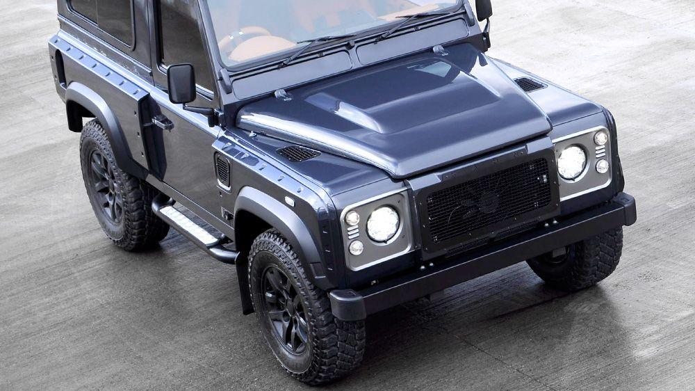 Воздухозаборники на капот (Land Rover Defender)