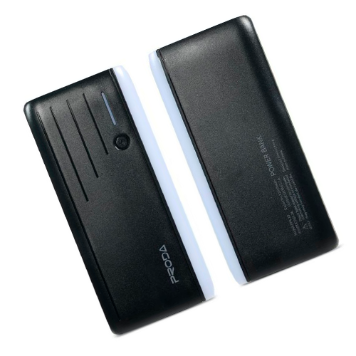 Внешний аккумулятор Smart Mobile Power Proda Time, 12000 mAh, черный