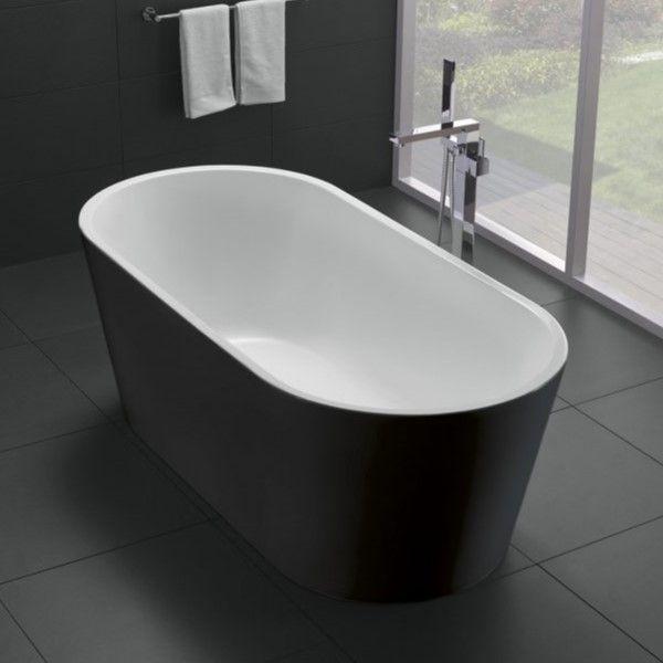 Ванна с экраном в комплекте Belbagno BB71-1700-NERO 170x80 ФОТО
