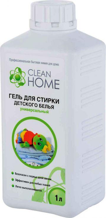 Clean Home Гель для стирки детского белья 1 л