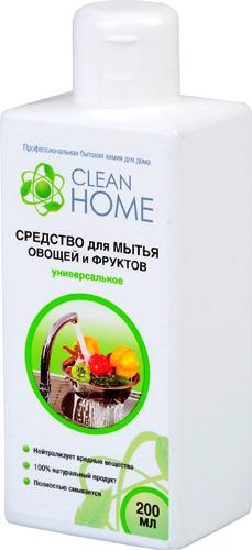 Clean Home Средство для мытья овощей и фруктов универсальное 200 мл