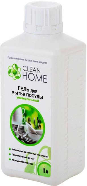 Clean Home Гель для мытья посуды запасной блок 1 л