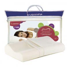 Ортопедическая подушка Luomma F-509 (14 см) с эффектом памяти.