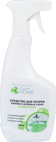Clean Home Средство для уборки ванной и душевых кабин 500 мл