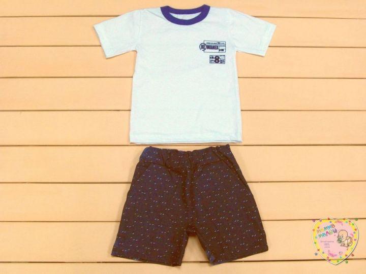 Костюм: футболка, шорты с карманами kA-KS069(k)-JNk