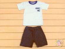 """Модный костюм для мальчика: футболка, шорты с карманами kA-KS069(k)-JNk """"Мамин Малыш"""" код 01681"""