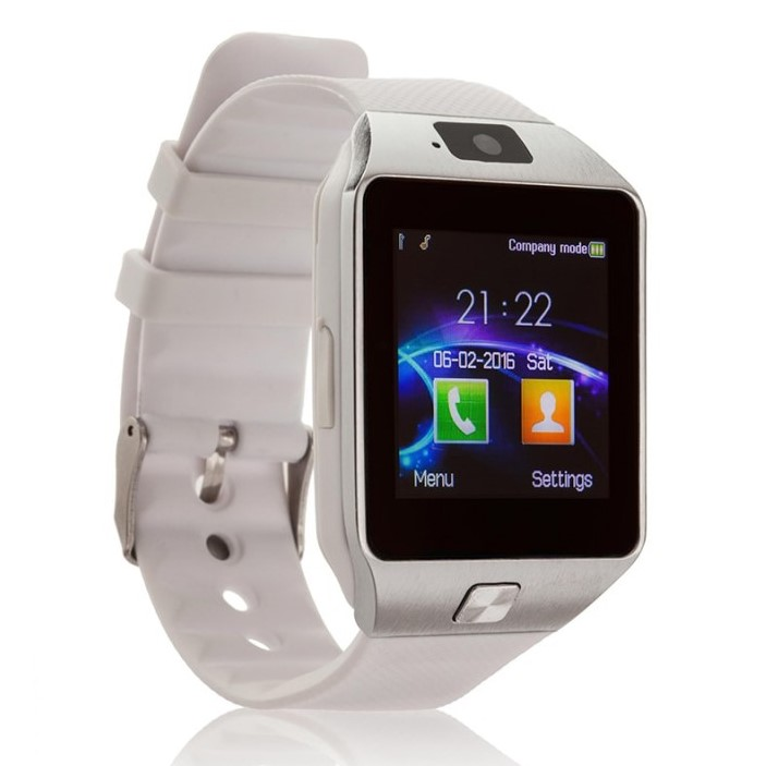 Умные Часы Smart Watch DZ09, Цвет Белый