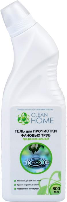 Clean Home Гель для прочистки фановых труб 800 мл