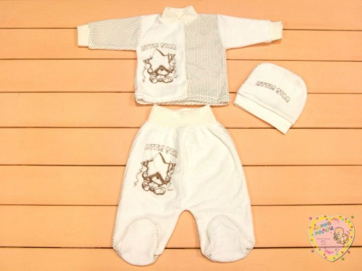 Велюровый костюм детский dA2-KS211(e)-VLk(b) Мамин Малыш OPTMM.RU