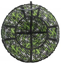 Тюбинг Hubster Люкс Pro Молнии зеленые 120 см