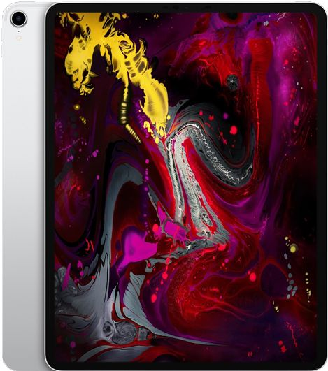 Apple iPad Pro 12.9 (2018) 64Gb Wi-Fi Silver (MTEM2RU/A)