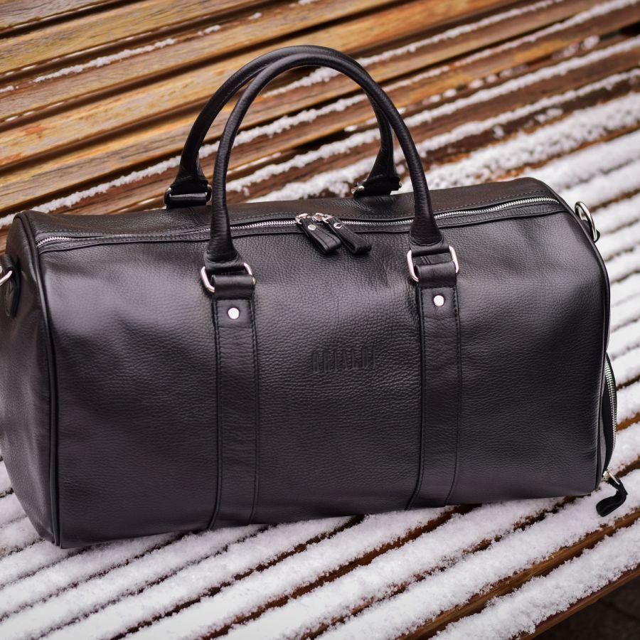 Дорожно-спортивная сумка трансформер BRIALDI Troy (Троя) relief black