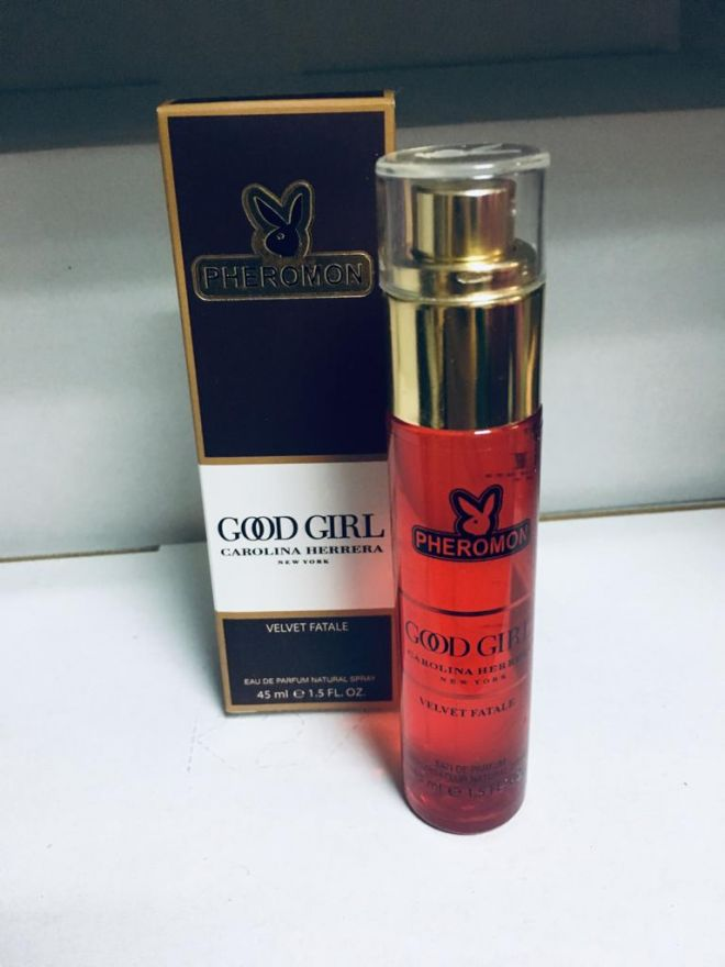 Мини-парфюм с феромонами CH Good Girl Velvet Fatale 45ml (new)