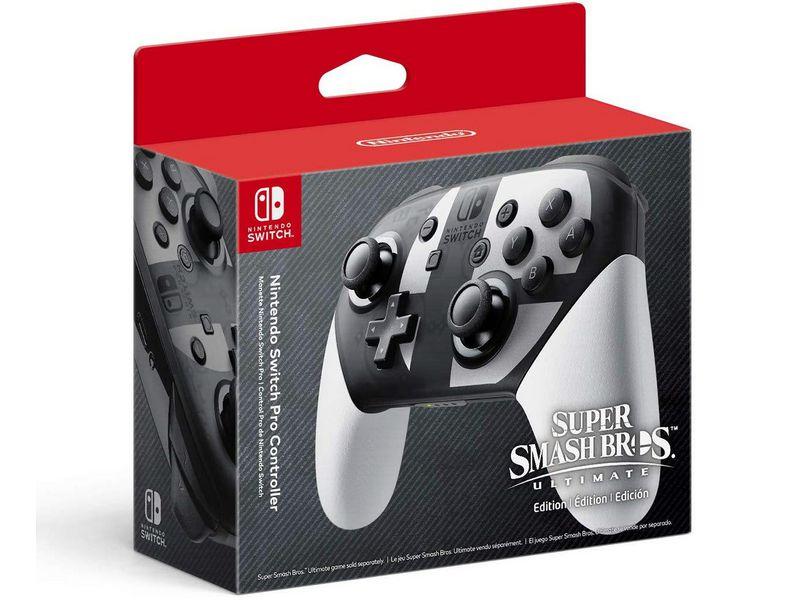 Геймпад Nintendo Switch Pro Super Smash Bros. Ultimate