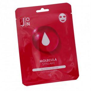 """""""J:ON"""" MOLECULA SYN-AKE DAILY ESSENCE MASK Тканевая маска для лица ЗМЕИНЫЙ ПЕПТИД 23 мл"""