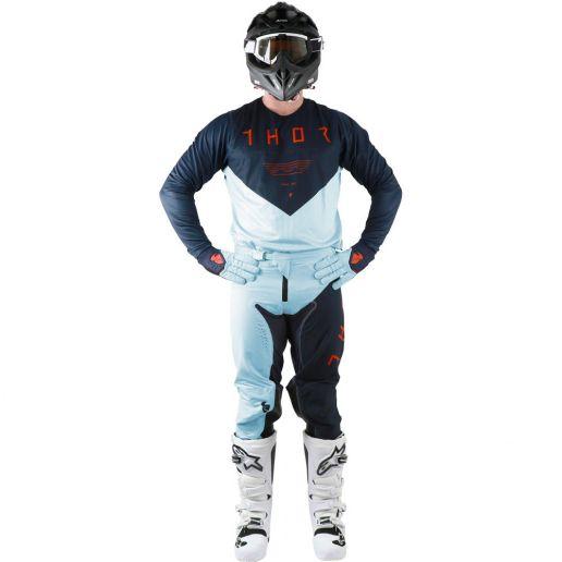 Thor - 2019 Prime Pro Jet Midnight/Sky комплект джерси и штаны, синий