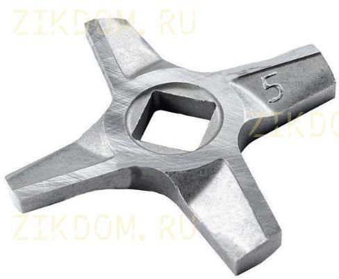 Нож 10003882 мясорубки Zelmer Bosch двухсторонний