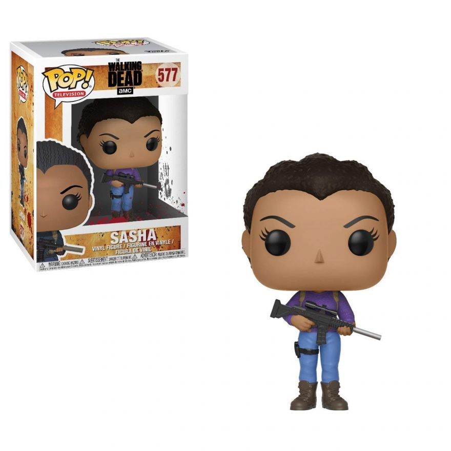 Фигурка Funko POP! Vinyl: The Walking Dead: Sasha 25205