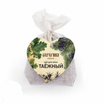 Чай для ванны Таёжный 80 гр, ТМ Берегиня