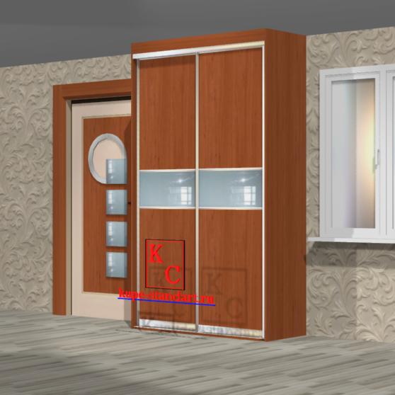 Встроенный шкаф купе 1500*2500*600