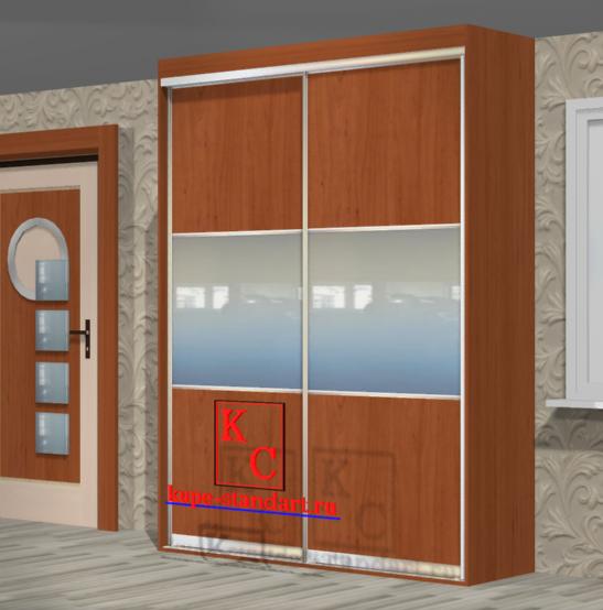 Встроенный шкаф купе 1800*2500*600