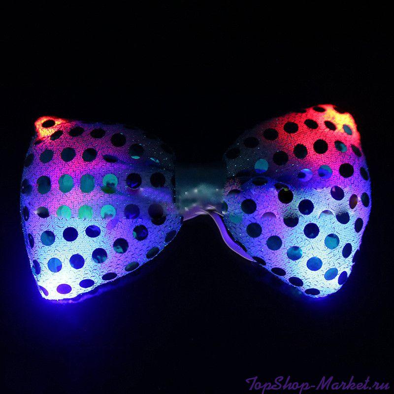 Светящаяся карнавальная бабочка, Цвет: Розовый