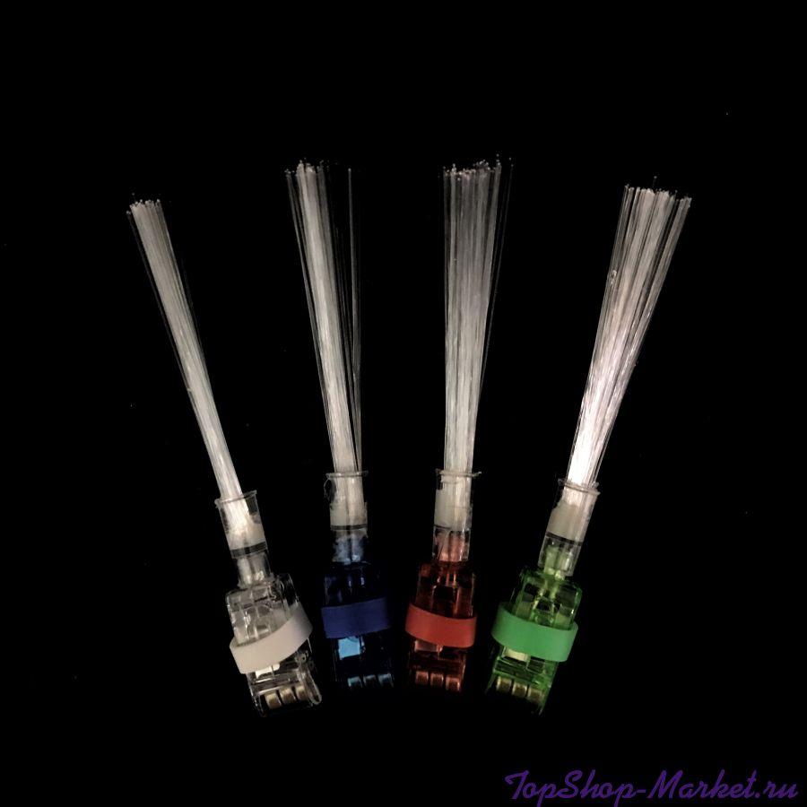 Светящиеся насадки на пальцы Finger Flashing, 4 шт
