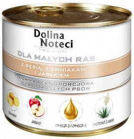 DOLINA NOTECI PREMIUM для мелких пород с гусем, картофелем и яблоком 185г