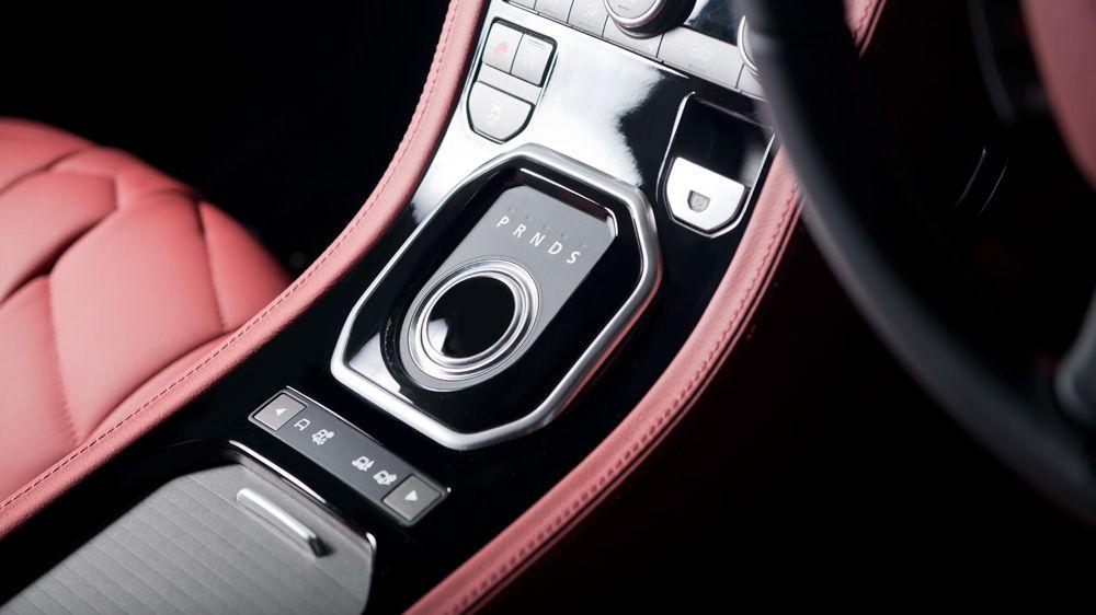 Обшивка центральной консоли (Range Rover Evoque)