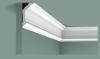 Карниз Гладкий Orac Decor CX176 Д200xШ4xВ8 см Лепнина из Дюрополимера / Орак Декор